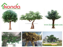 2015 Wholesale Artificial big tree and artificial plant,large outdoor artificial trees,artificial banyan ficus tree