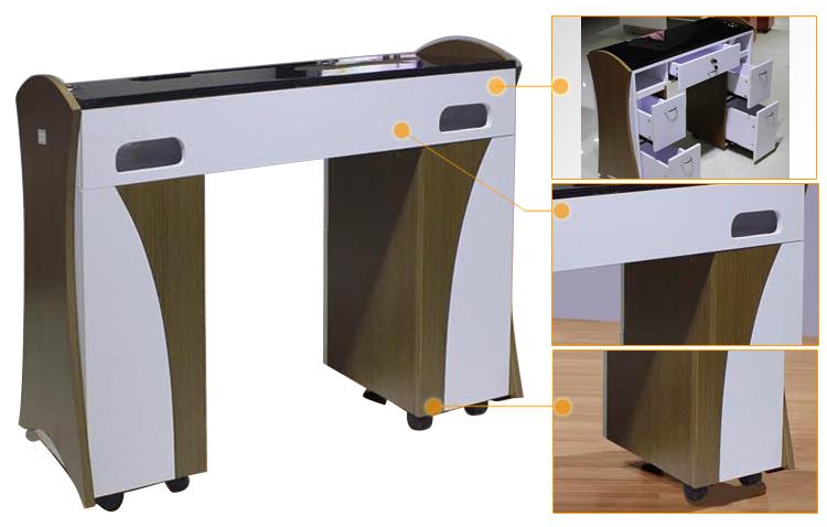 Manicure Table Light/salon Beauty Manicure Nail Table/manicure Table ...