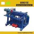 Qt4-30a mobile bloque hueco máquina de moldeo ladrillos