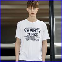 shirt factory short sleeve 100% cotton custom printed t-shirt wholesale