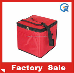 Waterproof 420D/PVC polyester sling cooler bag with pocket