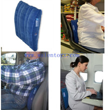 Back Pain Inflatable Lumbar Support Cushion,Office Chair Car Seat Airplane