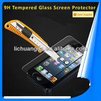 For iphone 5 tempered glass screen protector