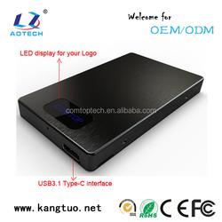 2.5 inch USB2.0/USB3.0/USB3.1 SATA HDD Enclosure