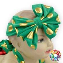 comfortable cotton green polka dot triple ruffle bubble romper for toddler girl