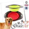 Alibaba China Wholesale High Quality Silicone Foldable Pet Bowl
