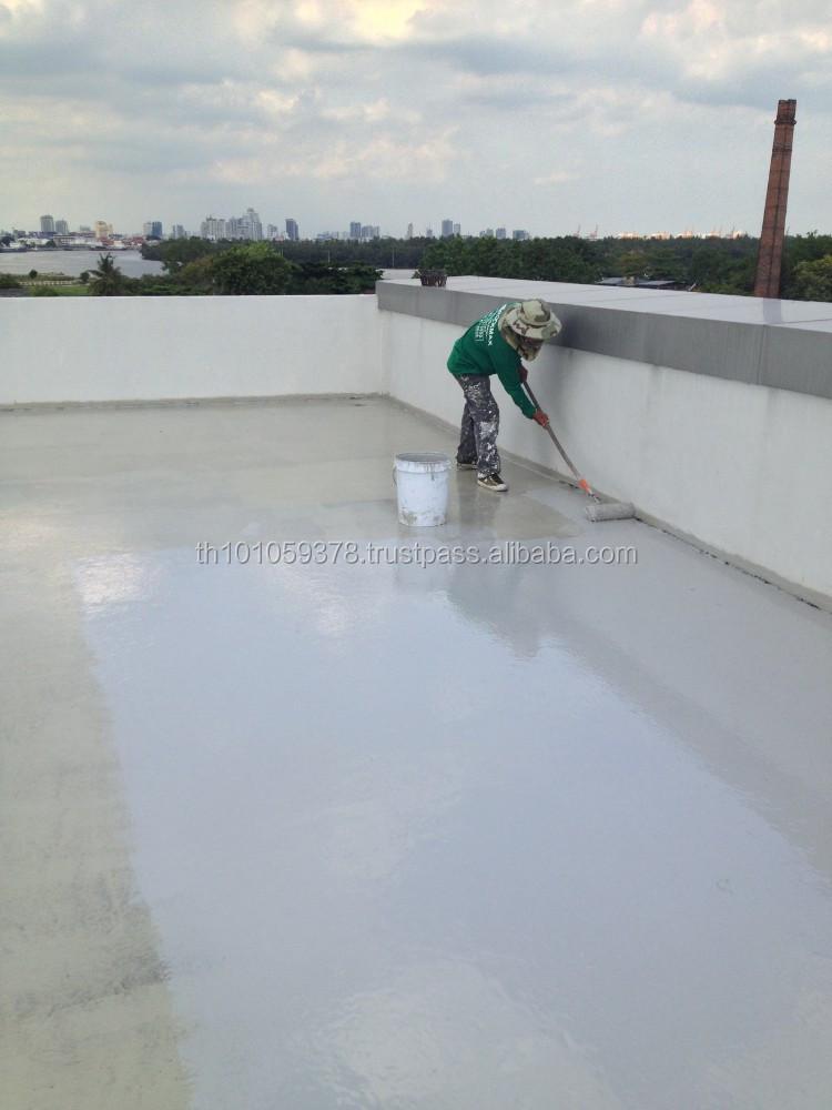 Elastomeric Sheet Waterproofing : Elastomeric flexible roof waterproof coating based on