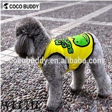 Factory Pet supplies dog clothes Cartoon plain T-shirt in Wholesale price