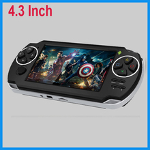 "video games 4.3"" touch screen,five-Point Capacitance Touch,android 4.1 tablet game console"