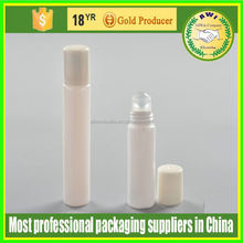 NEW mold 50ml empty refillable plastic roll on bottle for cosmetic deodorant container packaging