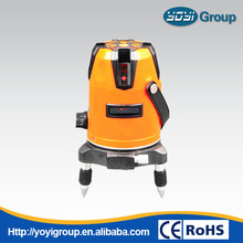 8 lines red beam laser leveling equipment YDRL8