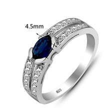Beautiful Fashion 925 Sterling Silver Ring Unique Wedding Ring For Women