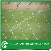Guangzhou High Quality Fence Netting/wire Mesh/chain Link Fence