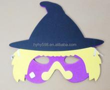 1505200 halloween witch mask,halloween mask,handmade eva mask
