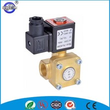 Gas 24V normally open BSP threads 1/4 inch 2w025-08 pilot-operated type solenoid valve