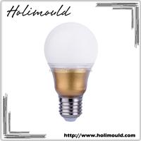 Super bright energy saving golden color A60 E27 7w 9w led light bulb