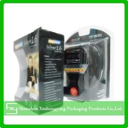 Headphone Blister plastic/plastic cardboard blister pack