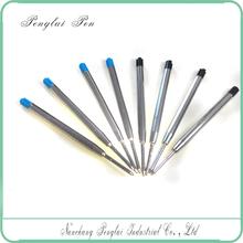 2015 Wholesale bulk metal silver oil ink pen refill