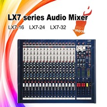 LX7-24 Professional soundcraft style digital audio mixer