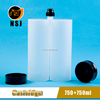 1500ml 1:1 two component cartridge, epoxy resin cartridge, dual cartridge