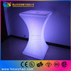 Outdoor Battery Operated remote Control Led Cocktail Table, LED Bar Table