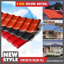 synthetic spanish roof tile / building construction material / distributor indonesia transparent roofing material