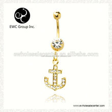 Promotional ornaments for belly ring jewelry