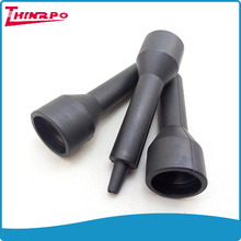 Custom plastic rubber components 85 shore A NBR hand grip for Ultrasonic beauty equipment