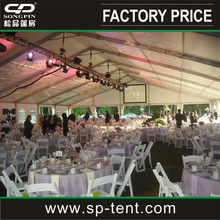 1000 seaters tents Big Cheap Wedding party Tents for sale with lightings and tables and chairs