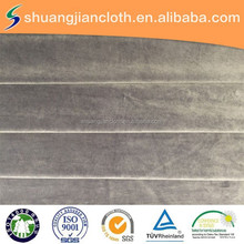 100% polyester velvet fabric for suits designs