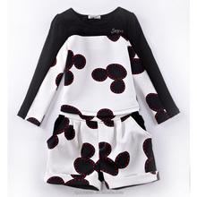 Ropa para niños juegos fabricante coreana ropa de niños 2015 nueva moda de ropa para las muchachas