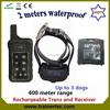 400Meter multi dog system training dog shock collar