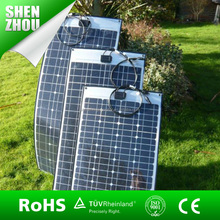 hot sales 100W semi-flexible solar panel