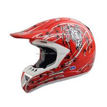 Racing motorcycle helmet