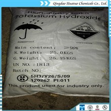 Industrial grade KOH Potassium Hydroxide