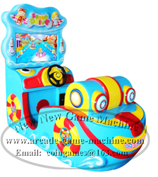 2015 New Design Amusement Center Park Arcade Speed Drive Racing Boat Coin Operated Lottery Redemption Prize Video Games Machine