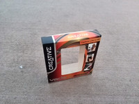creative fancy printing paper box with double clear windows