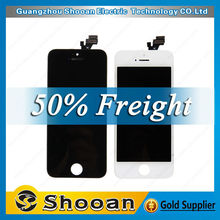 for iphone 5g screen,original quality!! for iphone5g lcd screen with low price,china mobile phone spare parts for iphone 5g