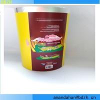 customized printing aluminum foil food grade butter foil wrapper