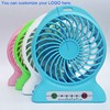 Hot selling rechargeable 5v usb micro electric portable mini desktop cooling fan