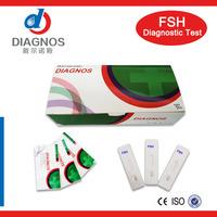 CE marked!Urine fsh test kit/One step fsh test card/fsh menopause test card