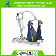 BT-PL001 Poweder-ocated steel electric disabled lifting trolley