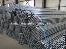 BS1387/ASTM A53 water fluid/construction hot dipped galvanized steel pipe