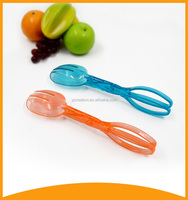 2016 kitchen utensils plastic food tongs for cake and pastry