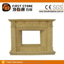 MFC139B Beige Marble Insulation For Fireplaces