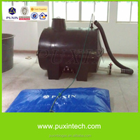PUXIN biogas home plants with septic tank for kitchen waste treatment
