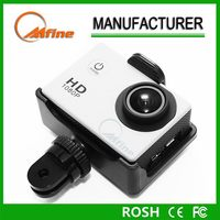 Action camera,cheap rechargeable battery motorcycle sports hd waterproof camera,sports hd mini dv