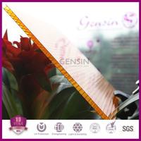 Double wall UV resistant hojas de policarbonato 2100*5800mm