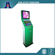 dual screen coin operated kiosk with printer,cash acceptor (HJL-D3510)