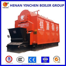 coal or wood fired fire & water pipes wood stove with back boiler,chain grate boiler with parts